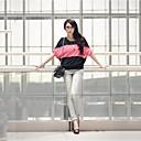 Stripe Loose T-skjorte for kvinner Bat Sleeve