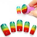 1PCS manikyyri Sieni Nail Art Stamper työkaluihin 5PCS Sieni Nail gradienttijärjestelmille Color Nail Art