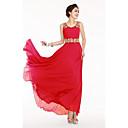 Women's Sleeveless Chiffon Maxi Dress