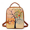 Women's New Style Retro Printing Backpack