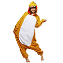 Fierce Dinosaur Khaki Polar Fleece Unisex kigurumi pyjama Sarjakuva Yöpuvut Animal Halloween Costume