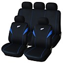 9 PCS Set Car Seat Covers Feather Embroidery Design Universal Fit   Auto Accessories