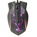 KN-613 Shift LED High Definition Optical Wired Gaming Mouse(800/1200/1600/2400DPI)