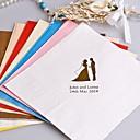 Die Symbolfarbe personalisierte Servietten-100-Sets (mehr Farben)
