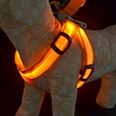 Training Safety Light Glow Harnesses Leash for Dogs LED dog collar