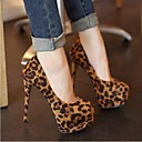 Women's Shoes Pointed Toe Stiletto Heel Flocking Pumps Shoes
