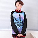 Women'sWomen's Print Long Sleeve Blouse