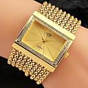 Stop pani luksus metalu kryształ zroszony bransoletka kitki zespół kobiecy zegarek kwarcowy (inne kolor)