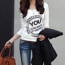 Women's Casual Print  Long Sleeve Slim T-Shirt