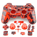 Replacement Housing Case & Accesories for PS3 Controller