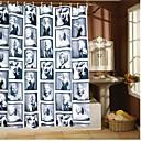 vina® waterdichte Marilyn Monroe badkamer douchegordijn met 12 haken
