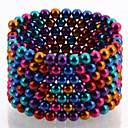 216pcs 5 millimetri fullereni fai da te e buckycubes blocchi sfere magnetiche giocattoli di sei colori differenti