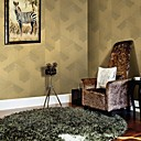 Wall Paper Wallcovering, Contemporary Geometric PVC WallPaper