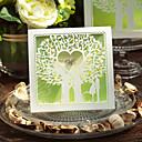 Hollow Love Tree Design Wedding Invitation-Set Of 50/20
