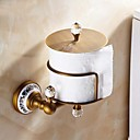 Antique Brass Toilet Roll Holders