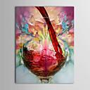 dipinti ad olio un moderno pannello di tela natura morta bicchiere di vino dipinte a mano pronti da appendere