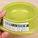 Lureme Bamboo Fiber Environmental Bowl for Pets Dogs(Random Color)