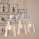 Contemporain LED Peintures Métal Lampe suspendue