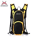 MYSENLAN Nylon Fabric Large Capacity Yellow and Black Cycling Backpack