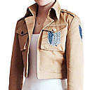 Attack on Titan Shingeki no Kyojin Eren Jager Scouting Corps Yellow Cosplay Jacket