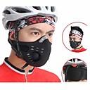 wolfbike anti-vervuiling gezicht te bedekken fietsen masker - zwart