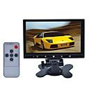 7-дюймовый автомобиль TFT LCD стоять / подголовник кнопку сенсорный монитор - черный