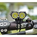 Bike Front Lights,LS070 5000lm 2xCREE XML U2 LED Cycling Bike Headlight Headlamp Front Light Suit (Black)