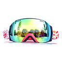 Basto marco rojo sensor amarillo gafas de nieve esquí