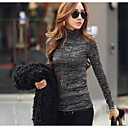 Women's Thicken The Turtle Neck Long Sleeve T-shirt