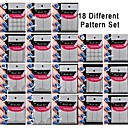 18 Set Different Pattern Making Pattern Nail Art Tool