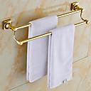 Forgyldt messing badeværelse håndklæde Rack
