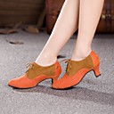 Modern Women's High Heels Cuban Heel Suede Dance Shoes (More Colors)