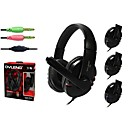 OVLENG X6 3.5mm Wired Stereo Gaming Headphone Headset with Microphone Volume Controller