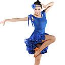 chaude robe de danse latine de vêtements de danse latine femme (plus de couleurs)