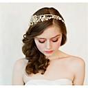 Dame Perle/Sterling Sølv/Rhinestone/Gull Headpiece Bryllup Pannebånd Bryllup