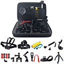 PANNOVO GP58 24 in1 Monopod Pole Floating Head Chest Mount Accessories For GoPro 3 3+ 4 SJ4000 XIAOYI