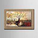 pittura a olio moderna a mano fiori astratti dipinti lino naturale con telaio allungato