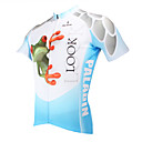 PaladinSport Men's Cycling Jersey Short Sleeve Cycling Jersey New Style 156DX 3D Frog DX156 100% Polyester