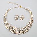 Women's Alloy/Rhinestone Jewelry Set Rhinestone