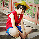 One Piece Luffy Anime Cosplay Kostüm