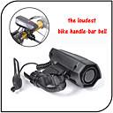 XIE SHENG Cycling/Mountain Bike/Road Bike/MTB/Fixed Gear Bike/Recreational Cycling Bike Bells ABS Alarm horn Black