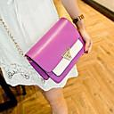 Handcee® The Newest Fashion Woman PU Candy Color Handbag