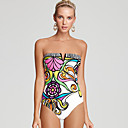 Women's Charming Floral Sexy One-piece Swimwear