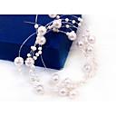 Women's Imitation Pearl Headpiece - Wedding/Special Occasion Head Chain 1 Piece