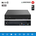 Cotier®25CH 1.5U 2HDD Port /960P/HD/ P2P Cloud/NVR N25/1.5U-2H