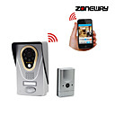 ZONEWAY® KiVOS KDB400 720p HD Wifi IP Video Door Phone Doorbell Support iOS and Android APP, TF Card Storage