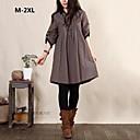 incern®women mode löst plus size dress (fler färger)