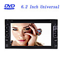 6.2 Inch Universal 2 Din In-Dash Car DVD Player with GPS,Bluetooth,Touch Screen RL-264WGN03