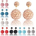 Bohemia Colorful Beads Full Rhinestone Lovely Earring(Assoeted Color)