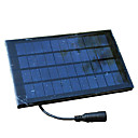 bestok banco de la energía del panel solar para exterior&la electrónica en interiores, útil para el campo / escuela / casa, etc.